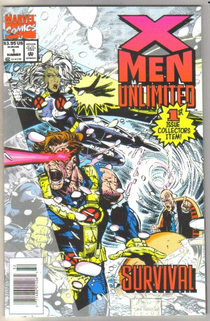 X-men Unlimited #1 comic book mint 9.8