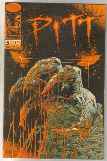 Pitt #5 comic book near mint 9.4