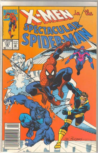 Spectacular Spider-man #197 comic book near mint 9.4
