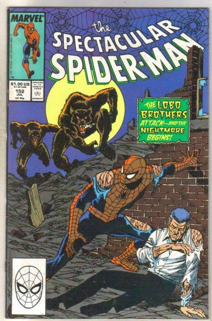 Spectacular Spider-man #152 comic book near mint 9.4