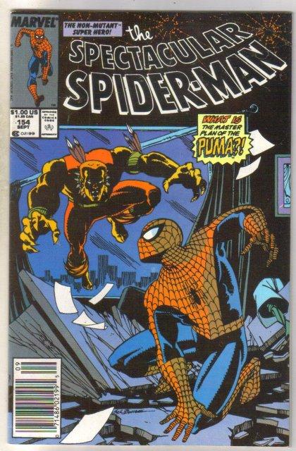 Spectacular Spider-man #154 comic book near mint 9.4