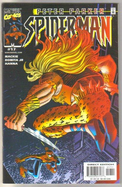 Peter Parker Spider-man #17 comic book near mint 9.4