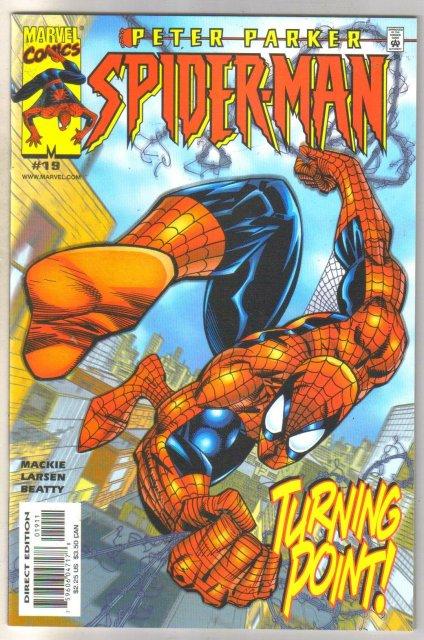 Peter Parker Spider-man #19 comic book near mint 9.4