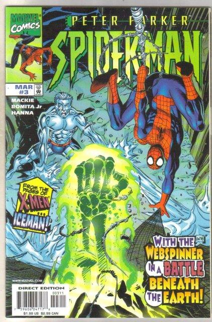 Peter Parker Spider-man #3 comic book mint 9.8