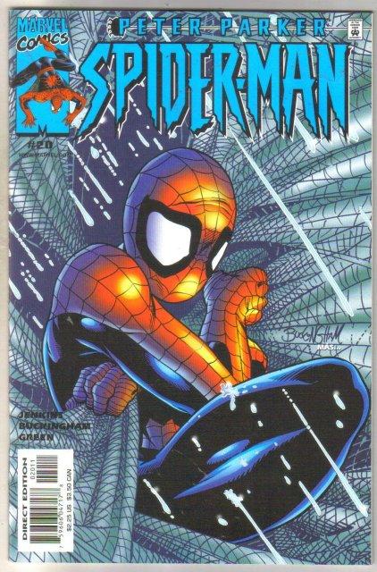 Peter Parker Spider-man #20 comic book mint 9.8