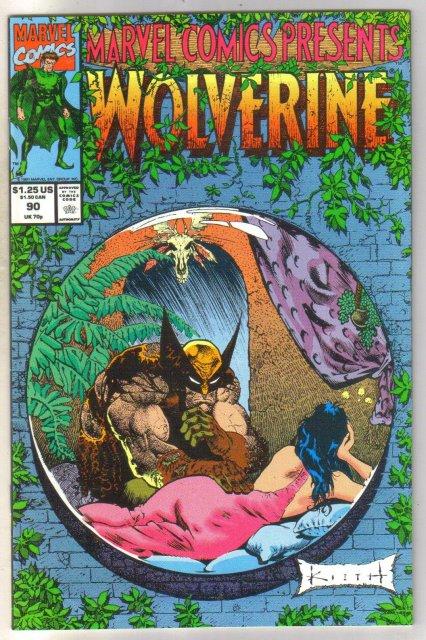 Marvel Comics Presents #90 comic book near mint 9.4