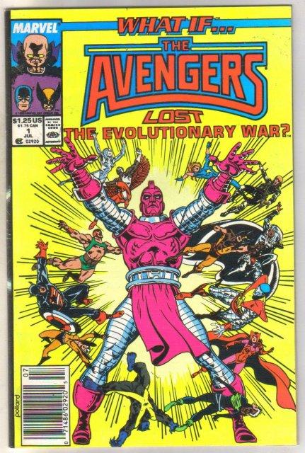 What If #1 comic book near mint 9.4