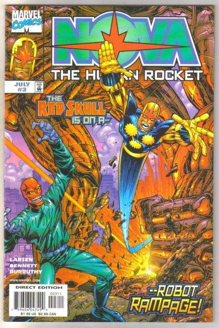 Nova The Human Rocket #3 comic book mint 9.8