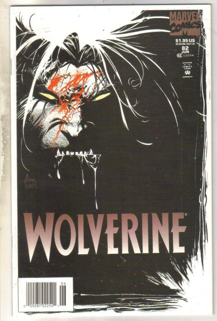 Wolverine #82 comic book mint 9.8