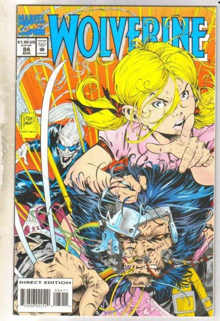 Wolverine #84 comic book mint 9.8