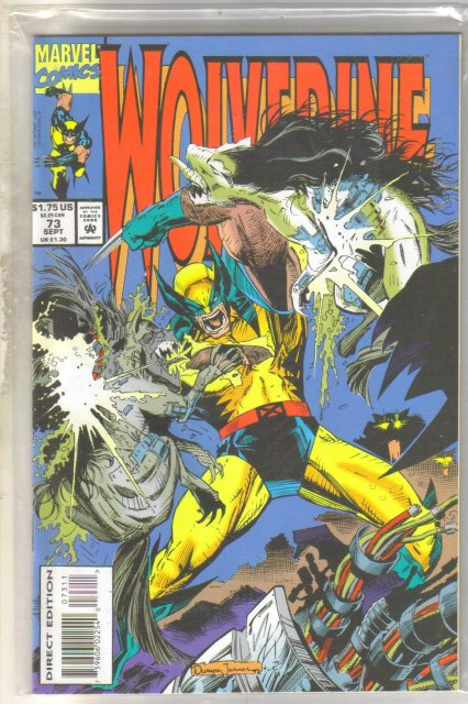Wolverine #73 comic book mint 9.8
