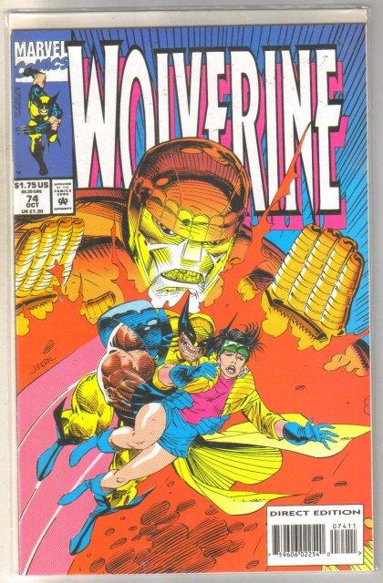 Wolverine #74 comic book mint 9.8