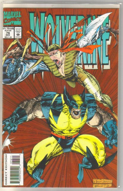 Wolverine #76 comic book mint 9.8