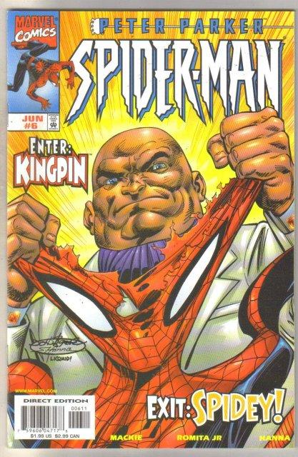 Peter Parker Spider-man #6 comic book mint 9.8
