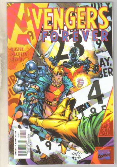 Avengers Forever #5 comic book mint 9.8