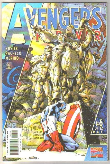 Avengers Forever #6 comic book mint 9.8