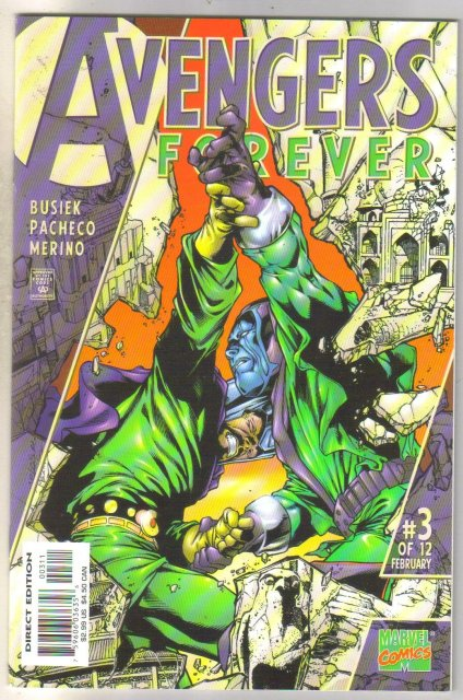 Avengers Forever #3 comic book mint 9.8