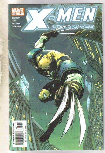 X-men Unlimited #5 comic book near mint 9.4