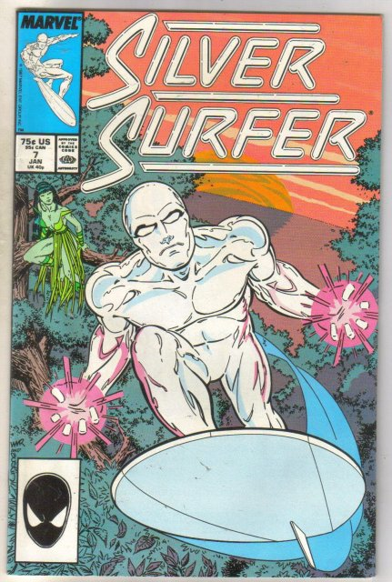 Silver Surfer #7 comic book very good 4.0