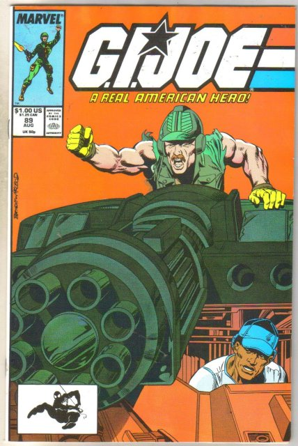 G.I. Joe #89 comic book near mint 9.4