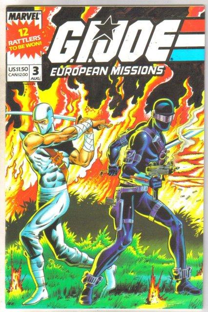G.I. Joe European Missions #3 comic book mint 9.8