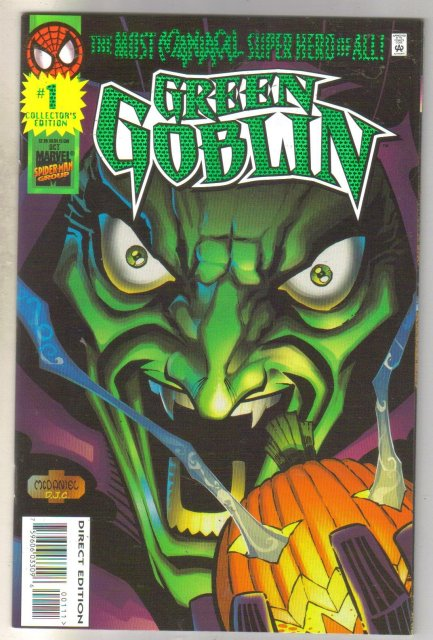 Green Goblin #1 comic book mint 9.8