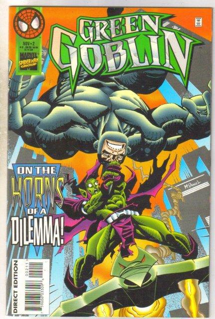 Green Goblin #2 comic book mint 9.8