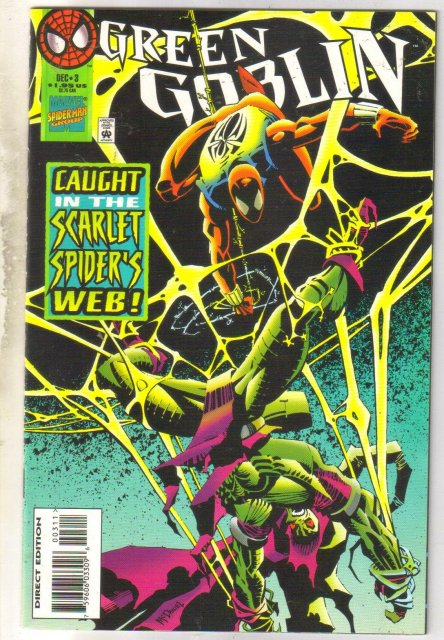 Green Goblin #3 comic book mint 9.8