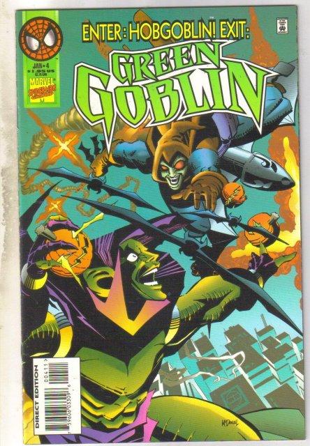 Green Goblin #4 comic book mint 9.8