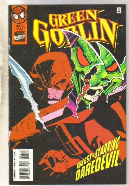 Green Goblin #6 comic book mint 9.8