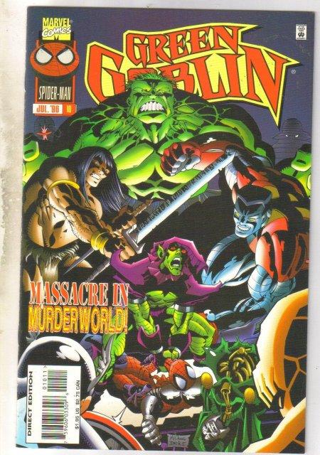 Green Goblin #10 comic book mint 9.8