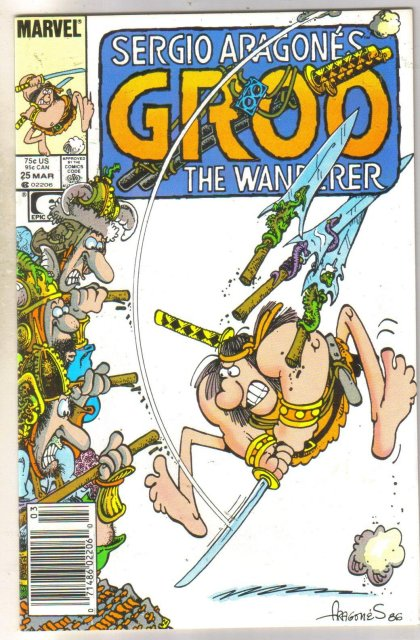 Groo #25 comic book near mint 9.4