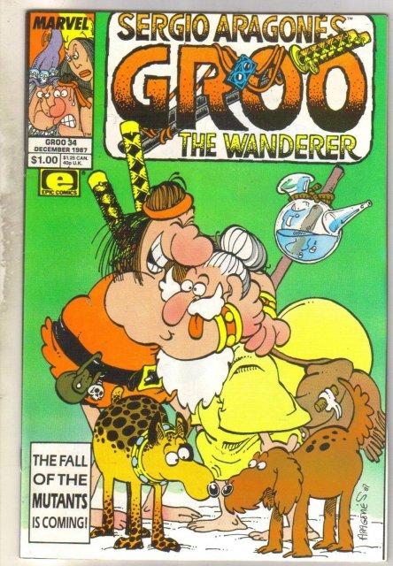 Groo #34 comic book near mint 9.4
