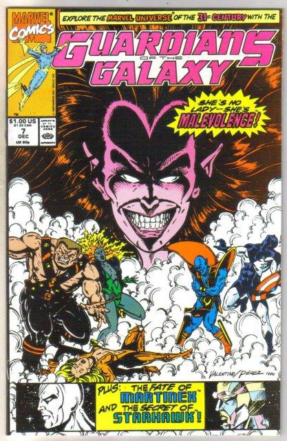 Guardians of the Galaxy #7 comic book near mint 9.4