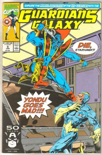Guardians of the Galaxy #8 comic book near mint 9.4