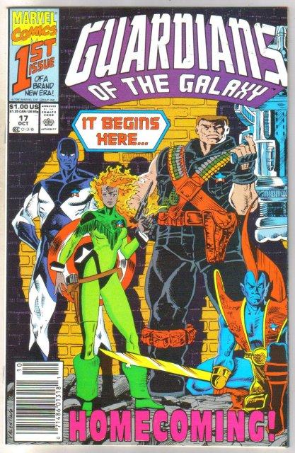 Guardians of the Galaxy #17 comic book near mint 9.4