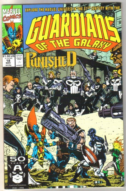Guardians of the Galaxy #18 comic book near mint 9.4