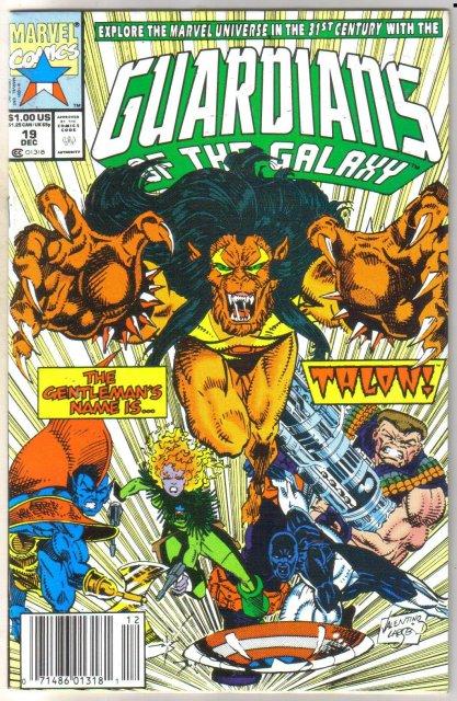 Guardians of the Galaxy #19 comic book near mint 9.4