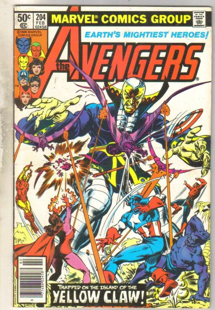 Avengers #204 comic book near mint 9.4