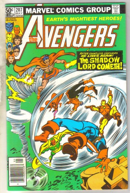 Avengers #207 comic book near mint 9.4
