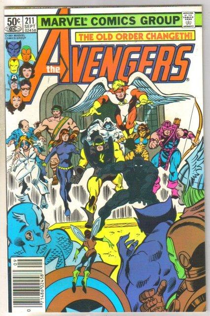 Avengers #211 comic book near mint 9.0