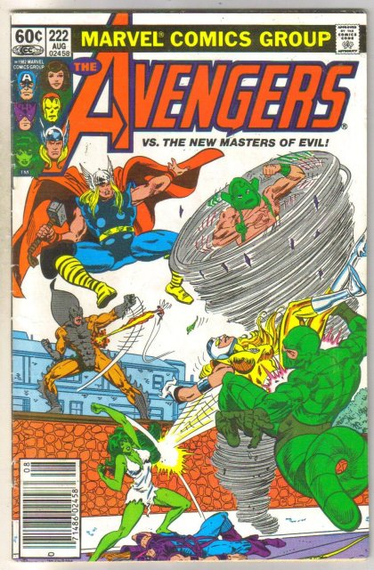 Avengers #222 comic book very fine 8.0
