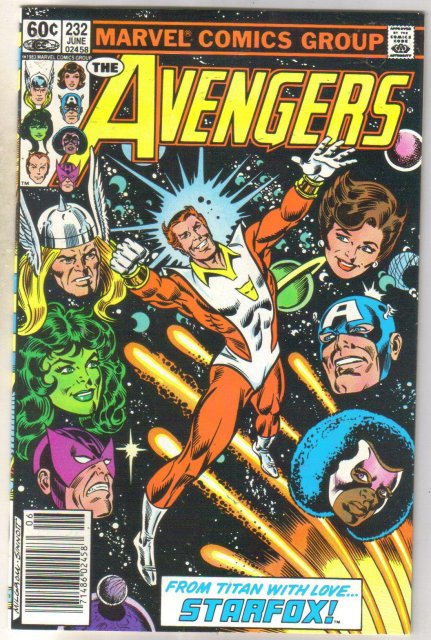 Avengers #232 comic book near mint 9.4