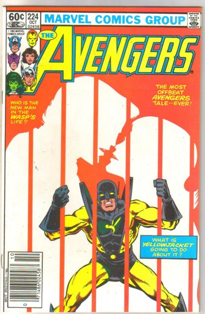 Avengers #224 comic book near mint 9.4