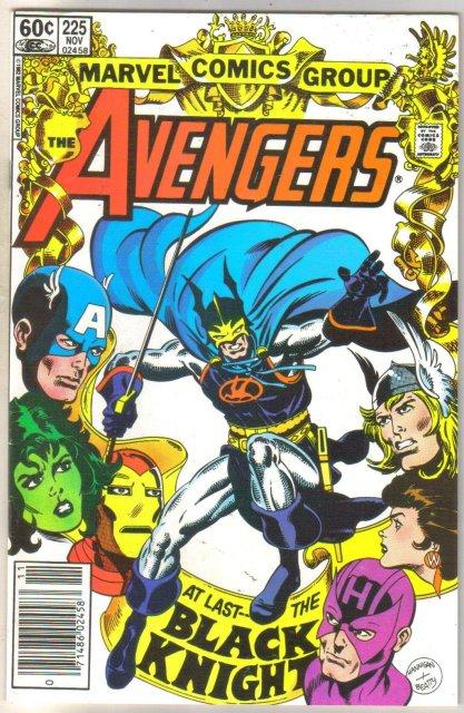 Avengers #225 comic book near mint 9.4