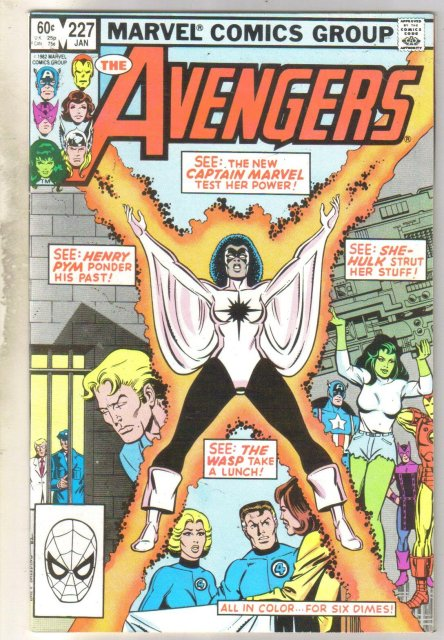 Avengers #227 comic book near mint 9.4