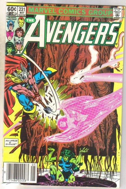 Avengers #231 comic book near mint 9.4