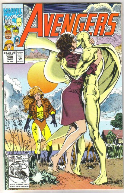 Avengers #348 comic book mint 9.8
