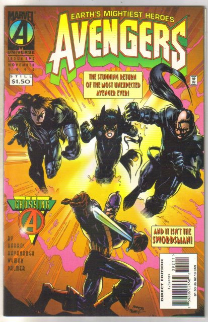 Avengers #392 comic book near mint 9.4