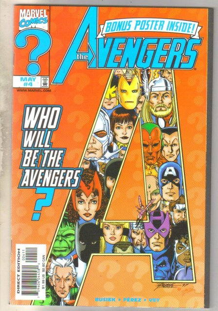 Avengers #4 comic book mint 9.8